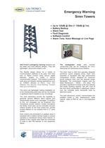 Emergency Warning Siren Towers - 1