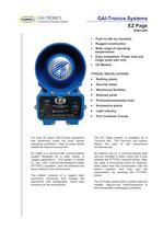 EZ Page  Intercom system - 1