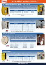 GAI-Tronics product overview catalogue - 9