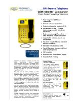 GSM (GSM-R) Commander - 1