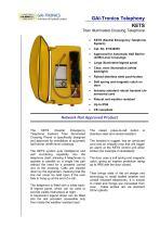 Illuminated Crossing Phone KETS - 1