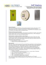 Implementing a Help Point System using GAI-Tronics VoIP products - 1