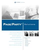 Page/Party® - paging and party-line capabilities - 1