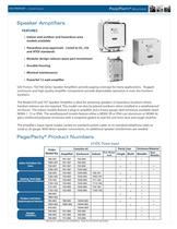 Page/Party® - paging and party-line capabilities - 7