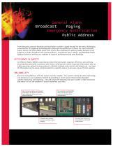 Public Address Systems PA/GA - 2