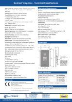Sentinel Hands-Free Telephone - 2