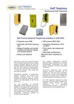 Voice over Internet Protocol Telephones - 1