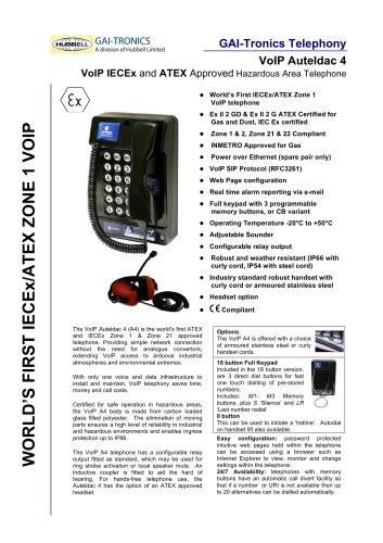 VoIP Auteldac 4