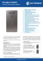 VR - Help Point - Hands-Free Vandal Resistant Telephone - 1