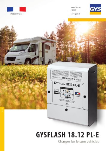 GYSFLASH 18.12 PL-E Charger for leisure vehicles