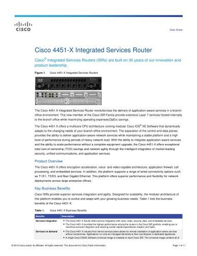 Cisco 4451-X