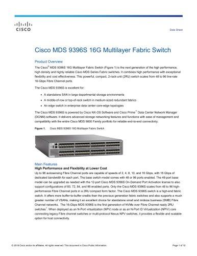 Cisco MDS 9396S