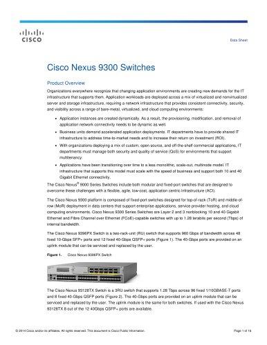 Cisco Nexus 9300