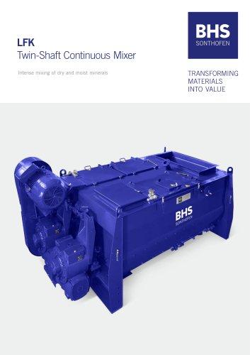 LFK Twin-Shaft Continuous Mixer