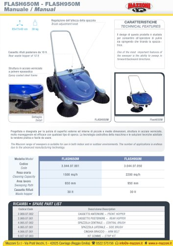 FLASH 650M - FLASH 950M