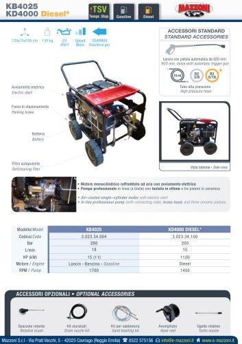 KB4025/KD4000 Diesel