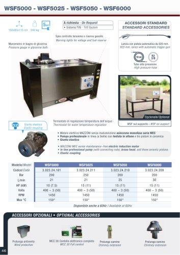 WSF5000/5025/5050/6000