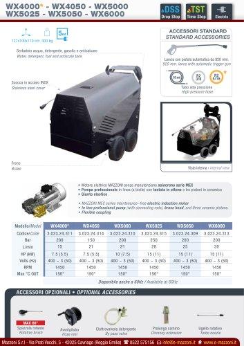 WX4000/4050/5000/5025/5050/6000