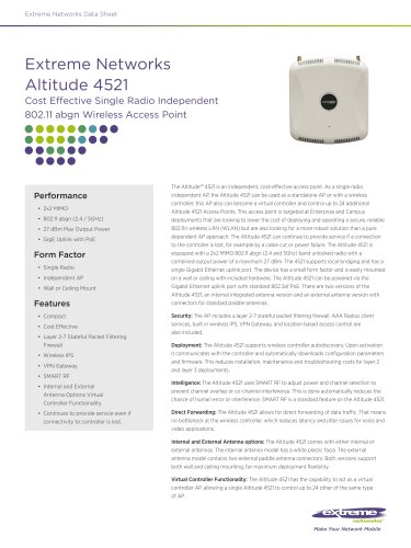 Altitude 4521 Access Point