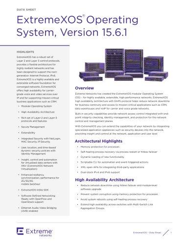 ExtremeXOS Operating System