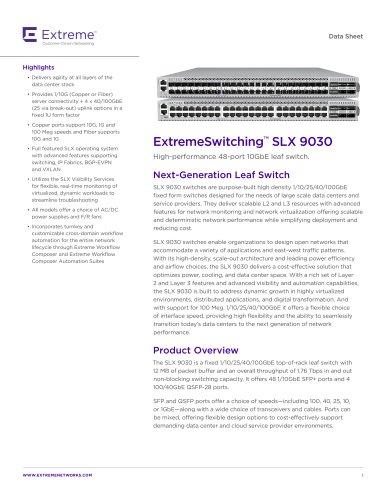 SLX 9030