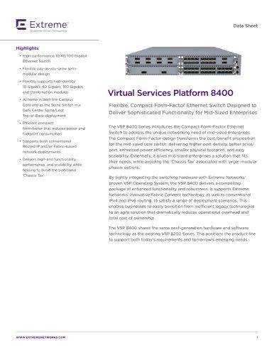 VSP 8400
