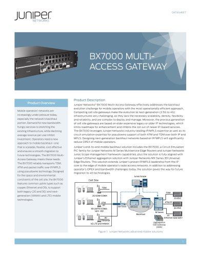 BX7000 Multi-Access Gateway