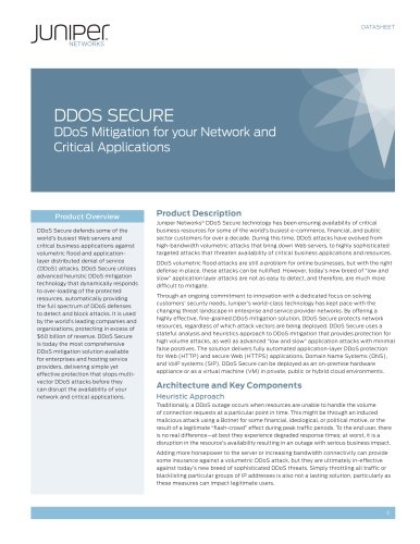 DDoS Secure