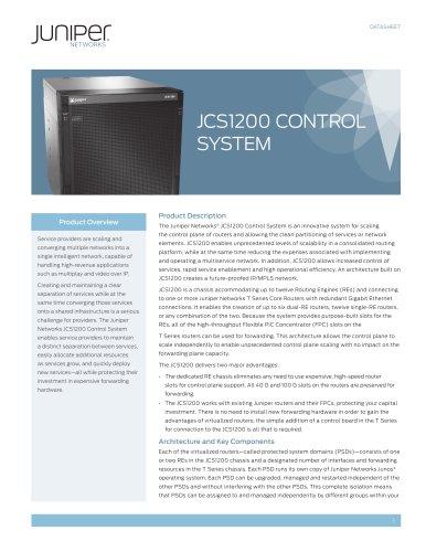JCS1200 Control System