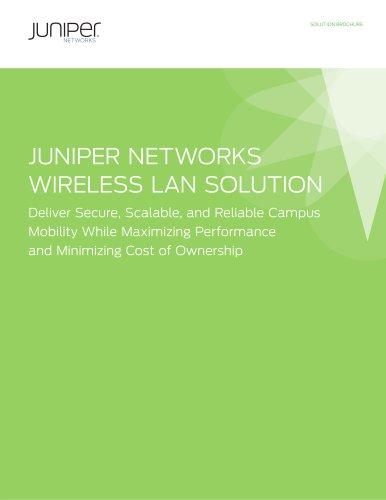 Juniper Networks Wireless LAN Solution