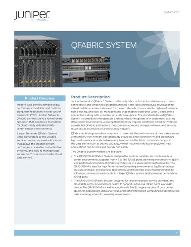 QFabric System