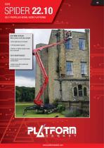 SPIDER 22.10 Evo - Technical Leaflet