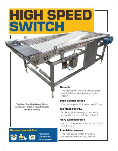 High Speed Switch Brochure