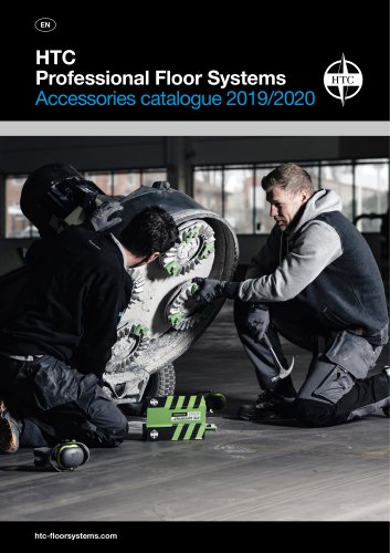 HTC Professional Floor Systems Accessories catalogue 2019/2020