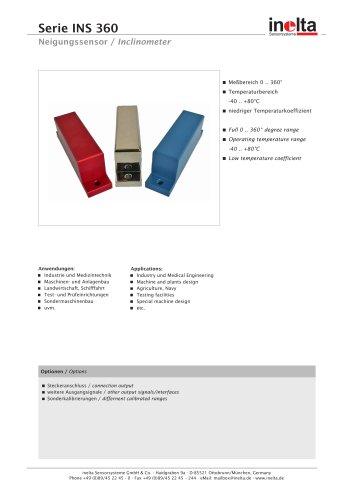 Inclinometer INS 360
