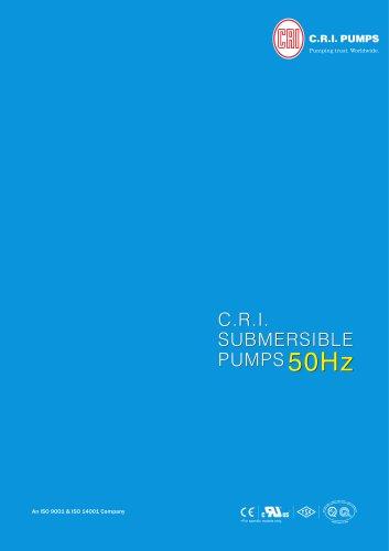 DEEPWELL SUBMERSIBLE PUMPS 50Hz