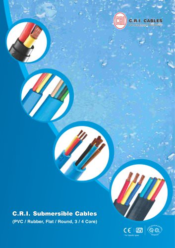 SUBMERSIBLE CABLES 50 HZ