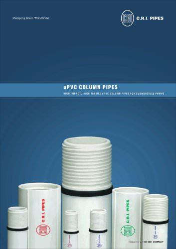 UPVC PIPES 50 HZ