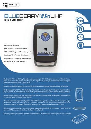 BlueBerry HS  UHF