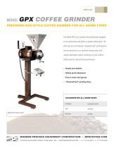 MODEL GPX COFFEE GRINDER