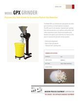 Model GPX Grinder