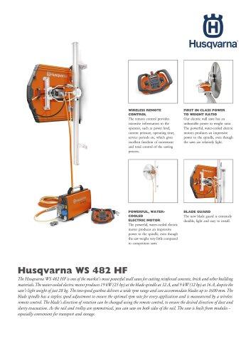 Husqvarna WS 482 HF