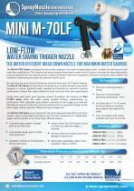 MINI M-70LF spray water gun