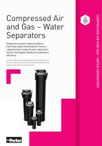 COMPRESSED AIR AND GAS TREATMENT 2018 Catalogue - 11