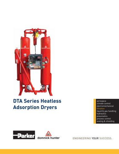 DTA Series Heatless Adsorption Dryers