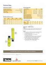 High pressure breathing air purifiers - 2