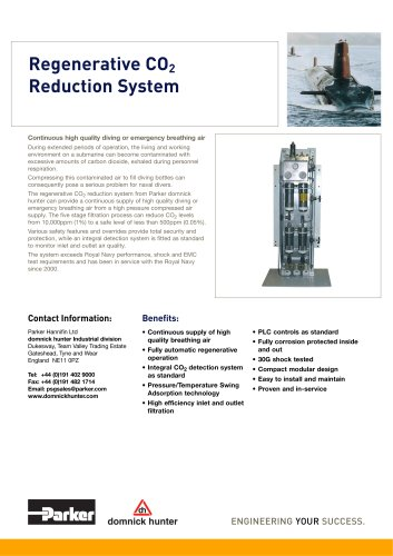 Regenerative CO2 Reduction System