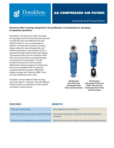 AG Compressed Air Filters