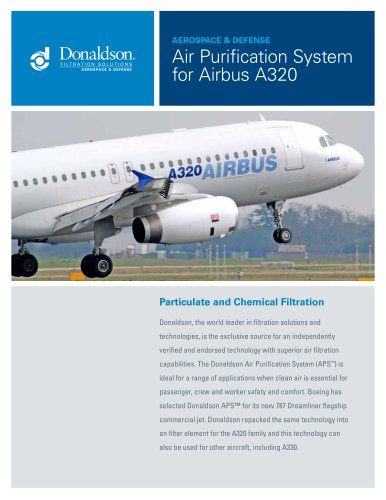 Air Purification System for Airbus A320