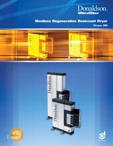 Heatless Regenerative Desiccant Dryer -Ultrapac 2000